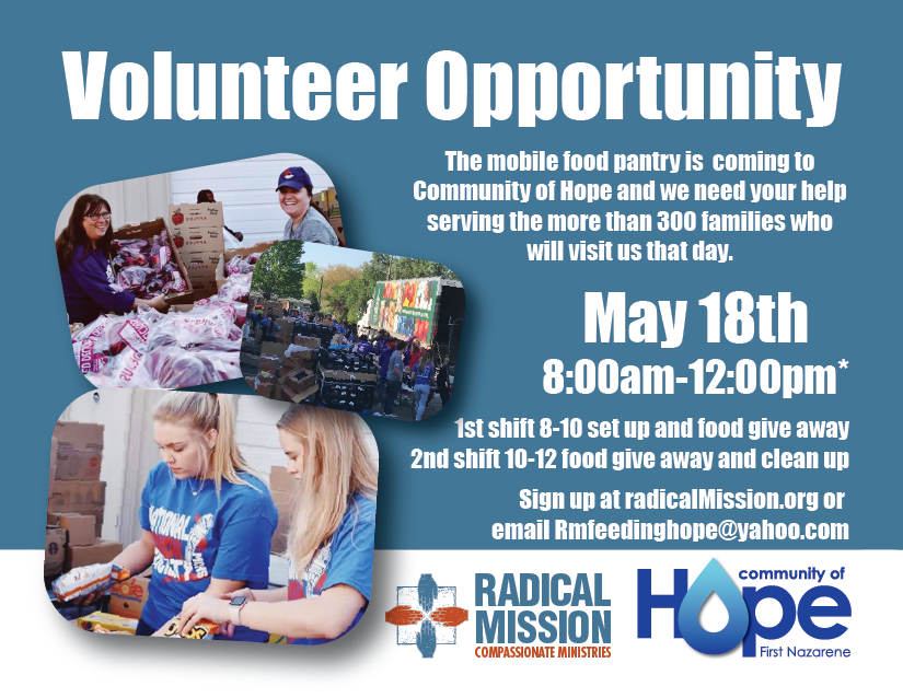 2019 Clarksville Mobile Food Pantry